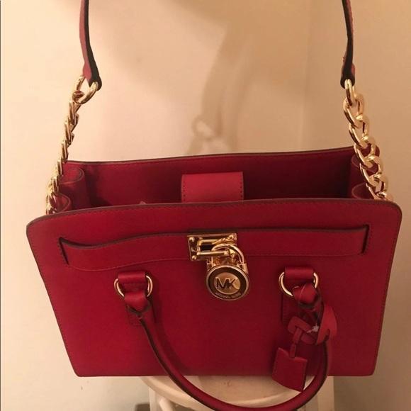 Michael Kors Handbags - Micheal Kors Hamilton Handbag